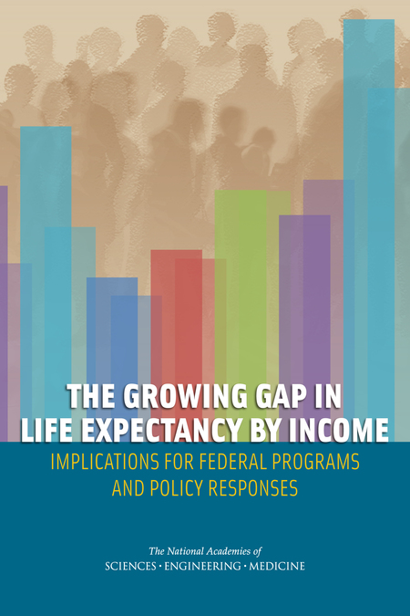 Description: The Growing Gap in Life Expectancy by Income: Implications for Federal Programs and Policy Responses