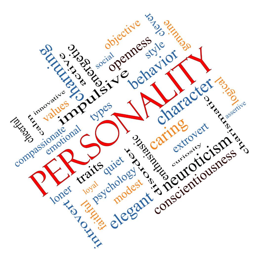 personality traits persoonlijkheid presidential voting usc concept woord schuin wolk stockfoto election intentions association between evidence base impulsief hameed eraj